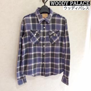 WOODY PALACE / ウッディパレス / ネルシャツ /...
