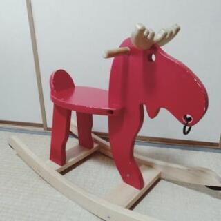 IKEA 木馬 ロッキングムース トナカイ