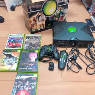 Xbox 本体、コントローラー、ソフト5点