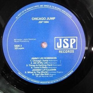 Chicago Jump / Dusty Brown–Doc Terry–Jimmy Lee Robinson-Johnny Littlejohn レコード UK盤 − 神奈川県