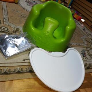 綺麗なバンボ テーブル&ベルト付き ライムカラー ベビーソファ ...