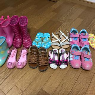子ども 女の子 靴 スニーカー サンダル 長靴