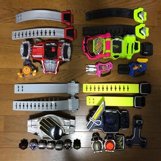 仮面ライダー 変身ベルト 4種類セット