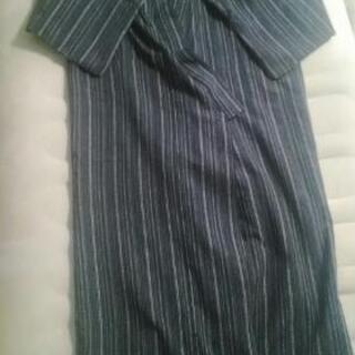 【今年7月購入】二度着たのみの浴衣&帯・雪駄セット