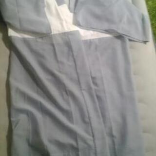 【今年7月購入】二度着たのみの浴衣&帯・雪駄セット - 板橋区