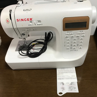 シンガーミシン 文字縫い出来ます