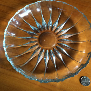 ガラス大皿②