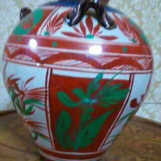 沖縄 胡差焼 花瓶
