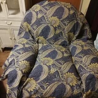 アメリカ製のリクライニングの椅子