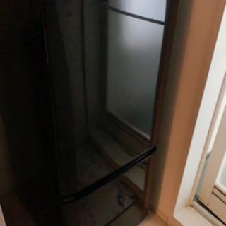 冷蔵庫 三菱 黒 MR-P15D-B 2ドア