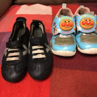 イタリアで購入した靴とアンパンマン靴