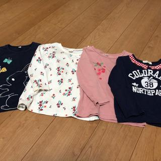 女児100cm〜110cm長袖シャツ