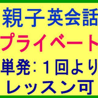 英会話★親子:家族ファミリー!プライベートレッスン!月1回よりレ...