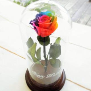 虹色のブリザードフラワー(バラ)を作って欲しい!