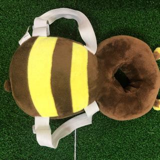 赤ちゃんのごっつん防止やわらかリュック ミツバチ
