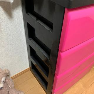 タンス ピンク