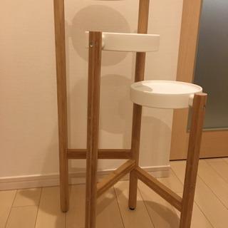 IKEA  組立済 プラントスタンド 植物置き