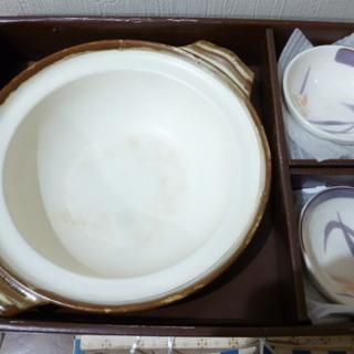 土鍋9号+取り皿5枚セット
