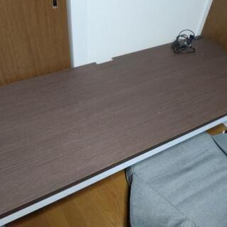 値下げしました パソコンデスク ローデスク 横150cm,幅60...