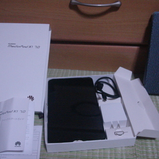 Huawei Mediapad X1 7.0 SIMフリーLTE対応 7インチタブレット【美品】の画像