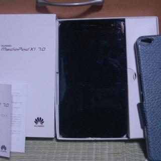 Huawei Mediapad X1 7.0 SIMフリーLTE対応 7インチタブレット【美品】 - 売ります・あげます
