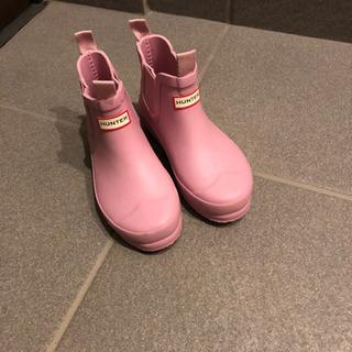 長靴、Hunter、女の子 ¥4500→¥4000値下げしました
