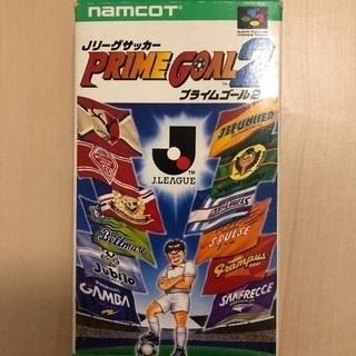 【スーパーファミコン】Jリーグサッカープライムゴール2