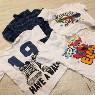 子供服 90Tシャツ、100シャツ