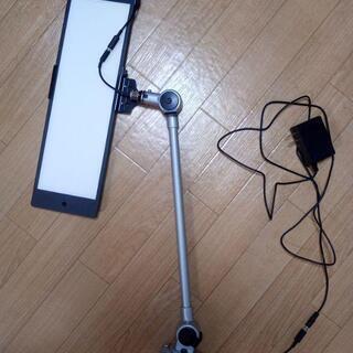 日揮 卓上式LED作業灯 NLUD120-25BT-AC