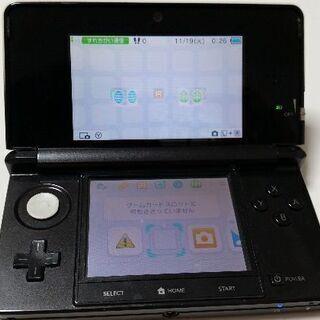 ジャンク品【Nintendo 3DS】コスモブラック