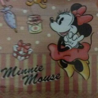 ミニー・マウス クリアファイル