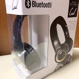 Bluetooth ワイヤレス ヘッドホン クール ブラック 【...