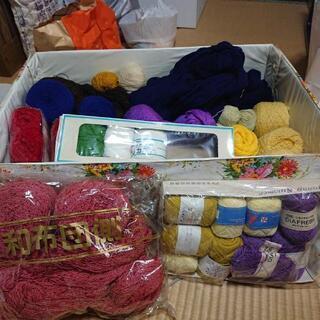 機械編み用毛糸