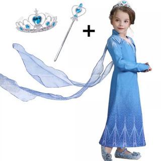 売れました。アナ雪2  エルサ ドレス 衣装  110