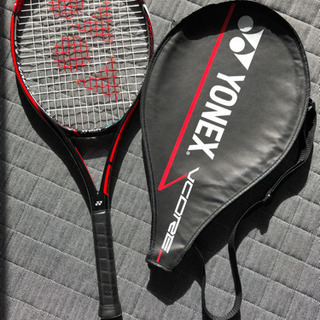 子供用テニスラケット ヨネックス カバー付