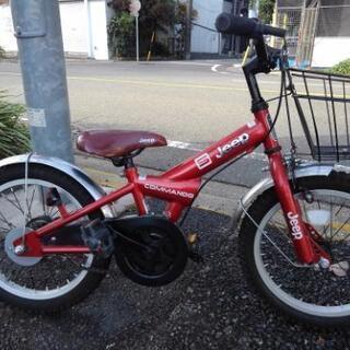 中古子供自転車773  子供自転車 JEEP 16インチ ギヤな...