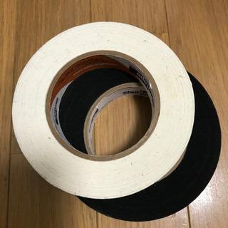 マスキングテープ パーマセル 25mm 白黒 未使用