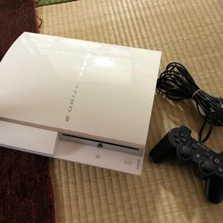 PS3(コントローラー,ケーブル(2本),ゲームソフト62枚分)
