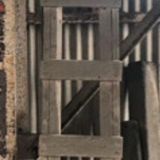 【あげます】木製はしご