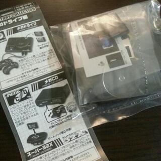 【*sale ¥300*】*メガドライブ *ガチャポン*メガCD*