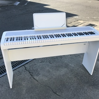 【KORG B1 デジタルピアノ ホワイト 2017年製 中古美...