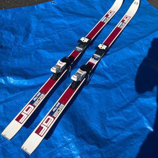 スキー板とビンディングセット(中古) 練習にいかが?