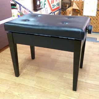 ピアノ椅子 ブラック 高さ調節可能 ピアノチェア ベンチタ…