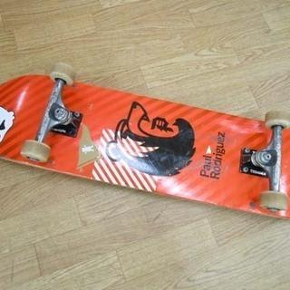 PaulRodriguez スケートボード レッド×ブラック 全...