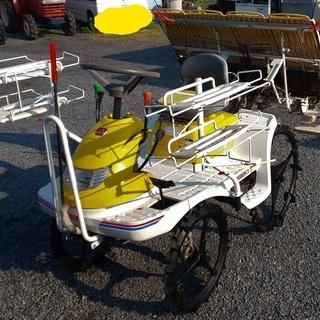 鹿児島発 イセキ 4条植えガソリンエンジン乗用田植機PP-4