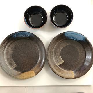 値下げ 大皿とドンブリ 500→300円