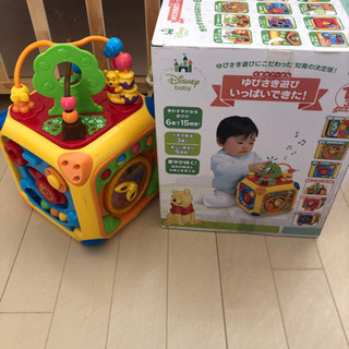 くまのプーさん ゆびさき遊びいっぱいできた! 知育玩具