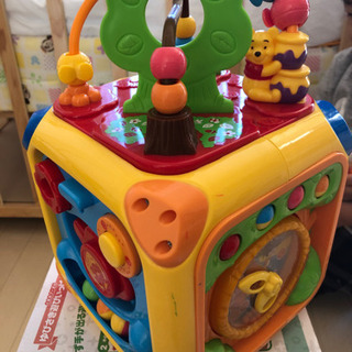 くまのプーさん ゆびさき遊びいっぱいできた! 知育玩具 - 川崎市