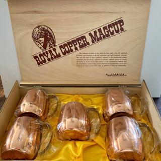 【未使用品】ハリカの銅マグカップセット