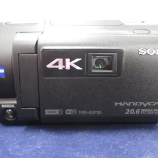 ソニー ビデオカメラ FDR-AXP35 2015年製